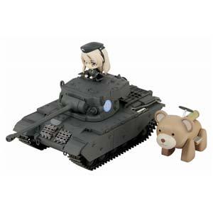 ノンスケール 巡航戦車 A41 センチュリオン エンディング Ver.DX ヴォイテク付き(ガールズ&パンツァー 劇場版)【PD55】 ピットロード