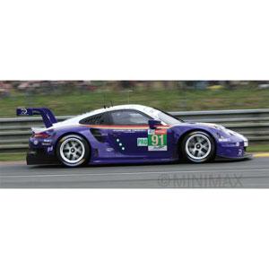 1/18 Porsche 911 RSR No.91 Porsche GT Team 2nd LMGTE Pro class 24H Le Mans 2018【18S392】 スパーク