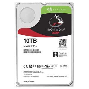 ST10000NE0004 Seagate 【バルク品】3.5インチ 内蔵ハードディスク 10TB IronWolf Pro(NAS向けモデル)