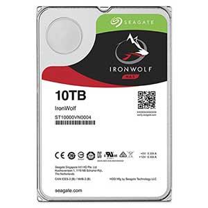 ST10000VN0004 Seagate 【バルク品】3.5インチ 内蔵ハードディスク 10TB IronWolf(NAS向けモデル)
