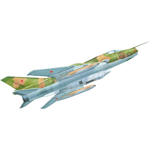 【再生産】1/72 露・スホーイSu-17M3Rフィッター戦術偵察機【MVT7248】 モデルスビット