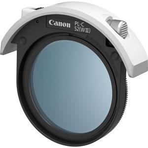 FILTER52DPLCW3 キヤノン ドロップイン円偏光フィルター「PL-C52(WIII)」 52mm Canon