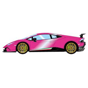 1/43 ランボルギーニ ウラカン ペルフォマンテ 2017 ピンクパール【EM363F】 メイクアップ