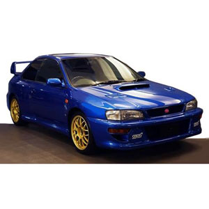 1/18 SUBARU Impreza 22B-STi Version (GC8改) Blue【IG1634】 ignitionモデル