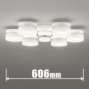 OC257015PC オーデリック LEDシャンデリア【カチット式】 ODELIC