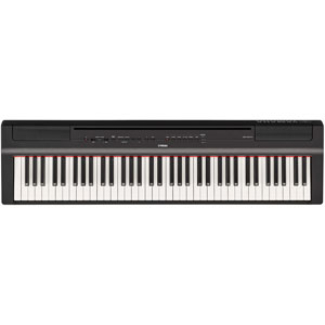 P-121B ヤマハ 電子ピアノ(ブラック) YAMAHA Pシリーズ