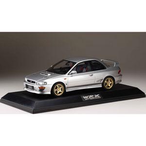 1/18 スバルインプレッサ WRX type R STi Version IV (GC8) 1997 ライトシルバーメタリック【HJ1812ES】 ポストホビー