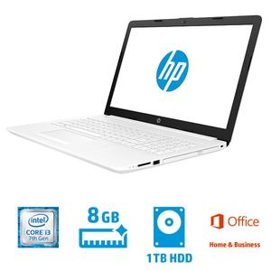 4QM57PA-AAAB ヒューレット・パッカード 15.6型 ノートパソコン HP Laptop 15-da0089TU ピュアホワイト [Core i3/メモリ 8GB/HDD 1TB/Office H&B 2016]