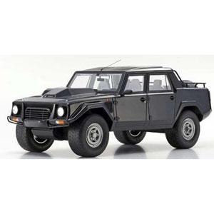 1/18 ランボルギーニ LM002(ブラック)【KSR18508BK】 京商