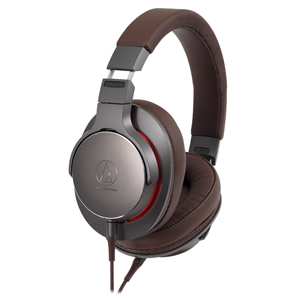 ATH-MSR7B-GM オーディオテクニカ ハイレゾ対応 ダイナミック密閉型ヘッドホン(ガンメタリック) audio-technica