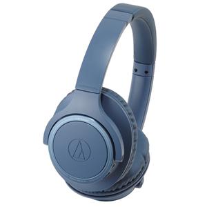 ATH-SR30BT-BL オーディオテクニカ Bluetooth対応 ダイナミック密閉型ヘッドホン(ブルー) audio-technica