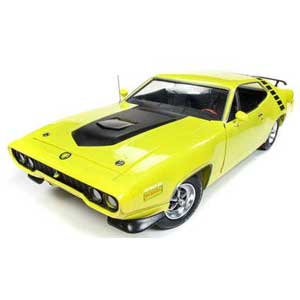 1/18 1971 プリムス ロードランナー ハードトップ(50th Anniversary)CY3 シトロンイエロー【AMM1158】 アメリカンマッスル