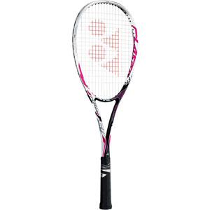 YO FLR5V 026 UXL1 ヨネックス ソフトテニス ラケット(ピンク・サイズ:UXL1・ガット未張り上げ)エフレーザー5V YONEX F-LASER 5V