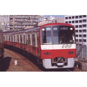 [鉄道模型]マイクロエース (Nゲージ) A6721 京急600形 4次車・4両固定・SRアンテナ付 増結4両セット