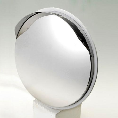 S-3GL 信栄物産 ステンレスミラー 丸型 直径474mm(グレー)