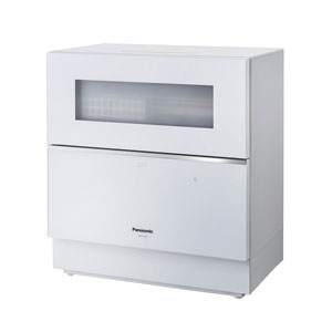 NP-TZ100-W パナソニック 食器洗い乾燥機(ホワイト) 【食洗機】【食器洗い機】 Panasonic