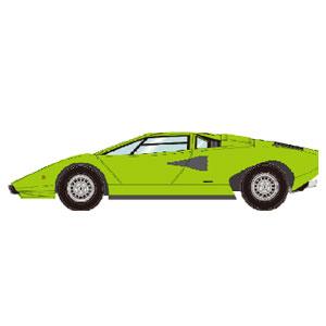 1/43 Lamborghini Countach LP400 1974 ライムグリーン【EM387J】 メイクアップ