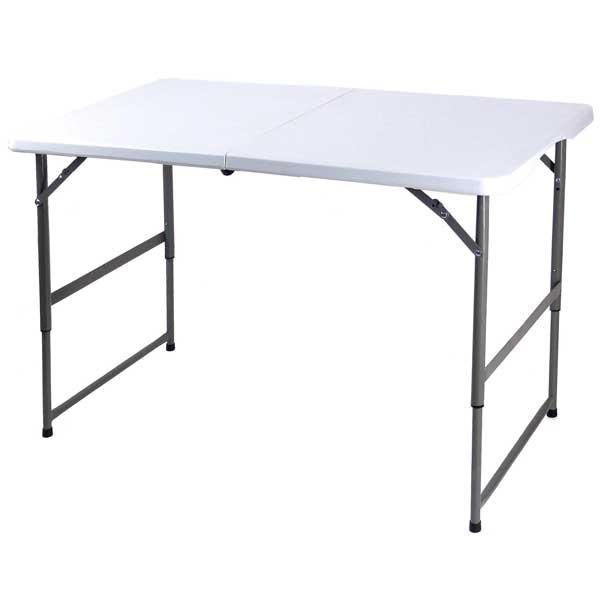 超人気 専門店 OST-120 ビーカム 強化プラスチック天板 折りたたみ作業テーブル 毎日続々入荷 幅120cm OST120ビカム
