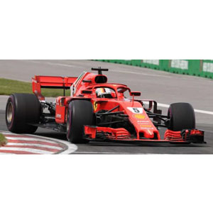 1/43 Scuderia Ferrari SF71H No.5 Winner Canadian GP 2018【LSF1015】 LOOKSMART