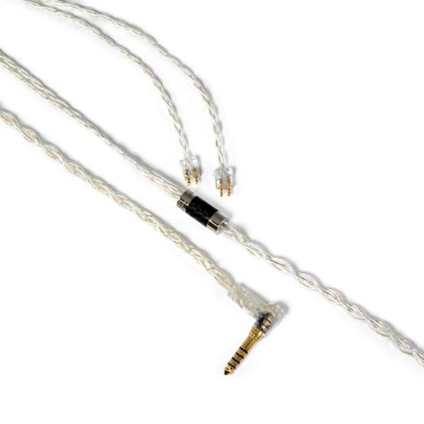 【500円クーポン10/11am1:59迄】LNA-DFN-FE-44L Luminox Audio イヤホン用リケーブル(1.2m)【FitEar⇔4.4mm5極L字プラグ】《Day for Night》 Luminox Audio