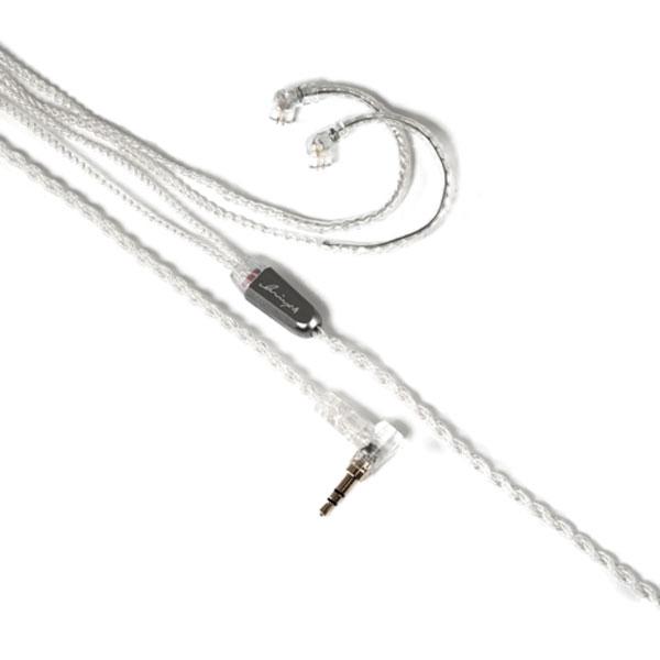 【500円クーポン10/11am1:59迄】LNA-REF-UQ2P-35L Luminox Audio イヤホン用リケーブル(1.2m)【qdc⇔3.5mm3極L字プラグ】《Reflection》 Luminox Audio