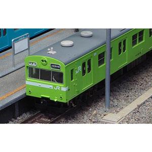 [鉄道模型]グリーンマックス (Nゲージ) 1238T JR103系初期車 関西形A ウグイス 4両編成動力付きトータルセット(塗装済みキット)