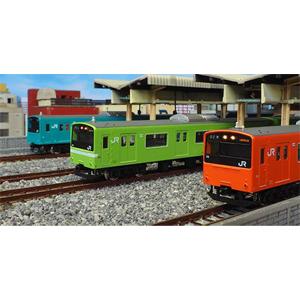 [鉄道模型]グリーンマックス (Nゲージ) 30267 JR201系 体質改善車 スカイブルー 大阪環状線 8両編成セット(動力付き)