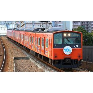 [鉄道模型]グリーンマックス (Nゲージ) 50619 JR201系 体質改善車「ICOCA10周年記念ラッピング」 8両編成セット(動力付き)