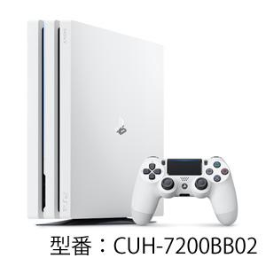 PlayStation 4 Pro グレイシャー・ホワイト 1TB ソニー・インタラクティブエンタテインメント [CUH7200BB02 PS4Proホワイト1TB]