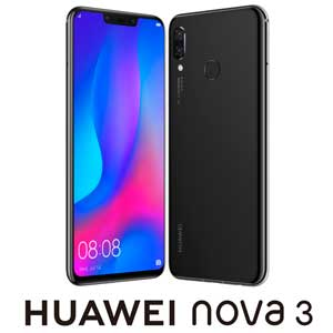 PAR-LX9-BK HUAWEI HUAWEI nova 3 ブラック [6.3インチ/メモリ 4GB/ストレージ 128GB]