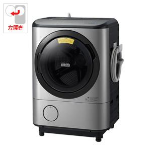 (標準設置料込)BD-NX120CL-S 日立 12.0kg ドラム式洗濯乾燥機【左開き】ステンレスシルバー HITACHI ビッグドラム