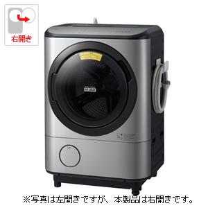 (標準設置料込)BD-NX120CR-S 日立 12.0kg ドラム式洗濯乾燥機【右開き】ステンレスシルバー HITACHI ビッグドラム