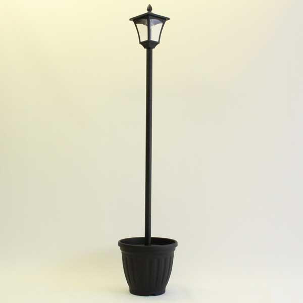 TAN-763-1 谷村実業 植木鉢付きソーラータイプ街灯 1灯