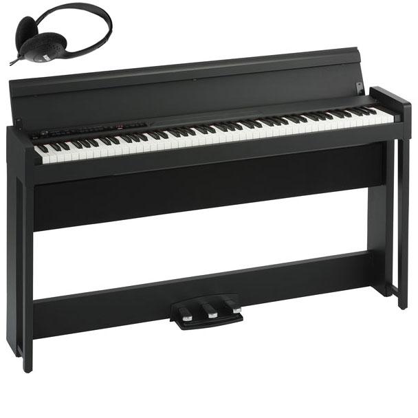 C1-AIR-BK コルグ 電子ピアノ(ブラック) KORG C1 Air