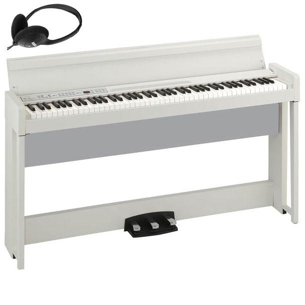 C1-AIR-WH コルグ 電子ピアノ(ホワイト) KORG C1 Air