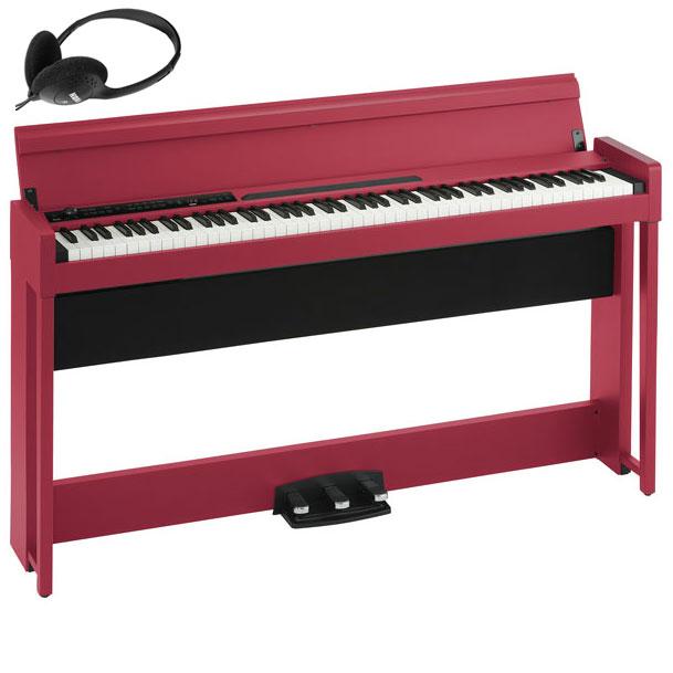 C1-AIR-RD コルグ 電子ピアノ(レッド) KORG C1 Air