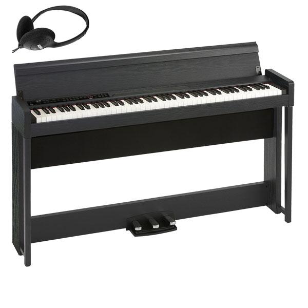 C1-AIR-WBK コルグ 電子ピアノ(ウッデン・ブラック) KORG C1 Air