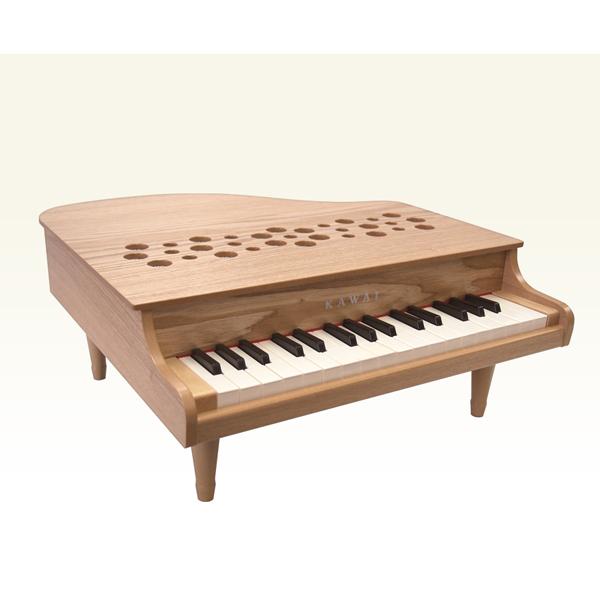 1164-P32-ナチュラル カワイ ミニピアノ(ナチュラル) KAWAI グランドピアノタイプ