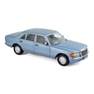 1/18 メルセデス・ベンツ 560 SEL 1990 メタリックパールブルー【183464】 ノレブ