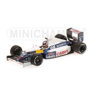 1/43 ウィリアムズ ルノー FW13B N .マンセル テストセッション【437910105】 ミニチャンプス