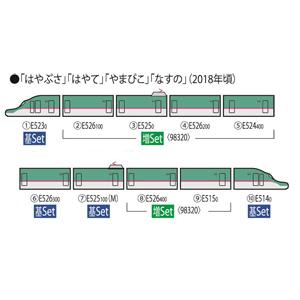 [鉄道模型]トミックス (Nゲージ) 98320 E5系東北・北海道新幹線(はやぶさ・増備型) 増結セット(6両)