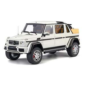 【200円OFF■当店限定クーポン 3/11 1:59迄】1/18 Mercedes-Maybach G650 Landaulet (White)【GTS022KJ】 GTスピリット