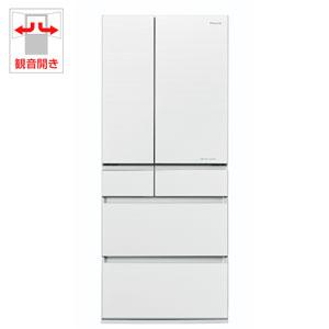 (標準設置料込)NR-F654HPX-W パナソニック 650L 6ドア冷蔵庫(マチュアホワイト) Panasonic エコナビ