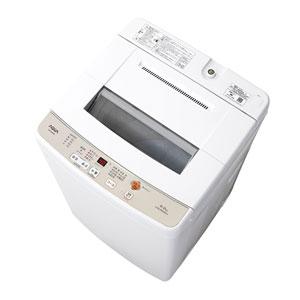 (標準設置料込)AQW-S60G-W アクア 6.0kg 全自動洗濯機 ホワイト AQUA