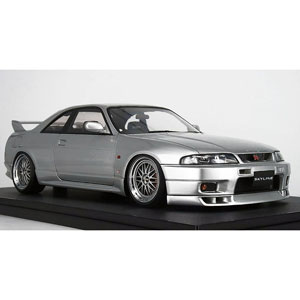 1/18 Nissan Skyline GT-R (BCNR33) V-spec Silver【IG1311】 ignitionモデル
