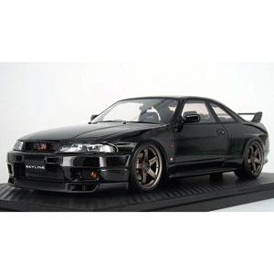 1/18 Nissan Skyline GT-R (BCNR33) V-spec Black【IG1314】 ignitionモデル