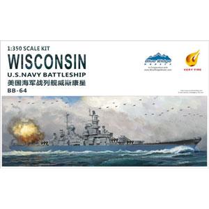 1/350 米海軍 戦艦 ウィスコンシン (BB-64)【VFM350912】 ベリーファイア