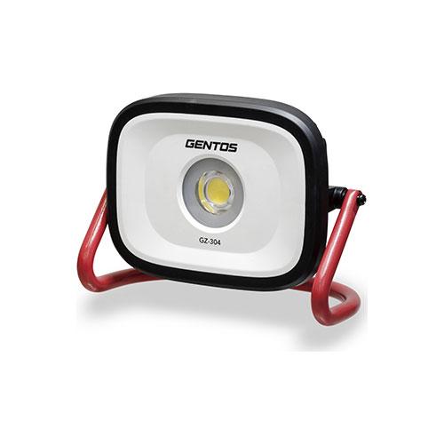 GZ-304 ジェントス 充電式LED作業灯 投光器 4000ルーメン GENTOS 投光器シリーズ [GZ304]