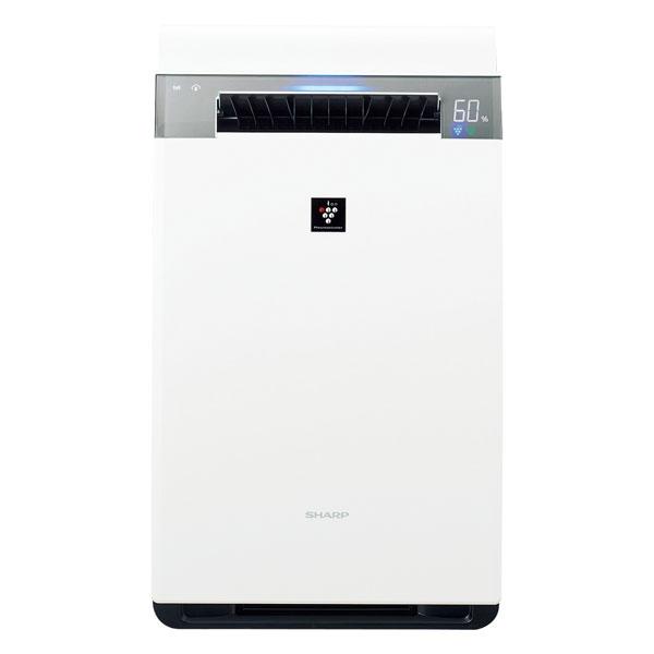 KI-JX75-W シャープ 空気清浄機【加湿機能付】(空清34畳まで/加湿21畳まで ホワイト系) SHARP 「プラズマクラスター25000」搭載