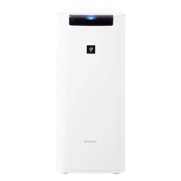 KI-JS40-W シャープ 空気清浄機【加湿機能付】(空清18畳まで/加湿12畳まで ホワイト系) SHARP 「プラズマクラスター25000」搭載【送料無料】
